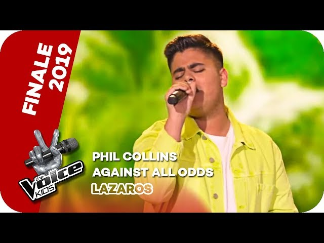 Phil Collins - Against All Odds (Lazaros) | Finale | The Voice Kids 2019 | SAT.1