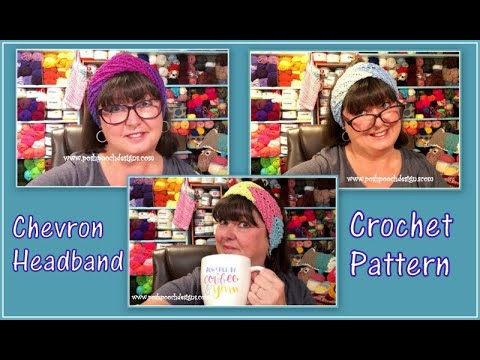 Chevron Headband Crochet Pattern