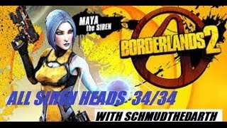 All Siren Heads For Maya Borderlands 2 34/34