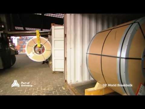 Breakbulk terminals Port of Antwerp