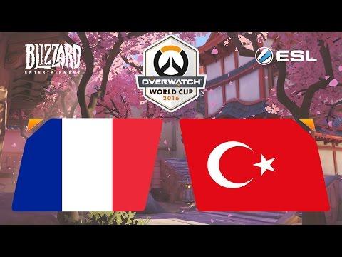 Overwatch - France vs. Turkey - Overwatch World Cup - Playoffs [1/2]