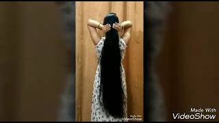 chakshu hair studio/Long hair play/long ringlets/silky long hair with smooth gown