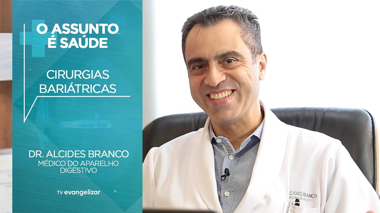 """Cirurgia bariátrica é pauta do programa """"O Assunto é Saúde"""" │ Clínica Alcides Branco"""