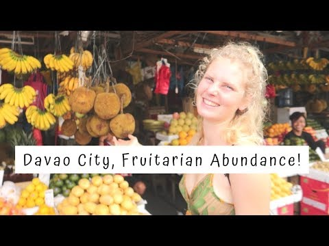 Lovely and Fruitful day in Davao City, Philippines | FruitariAnne