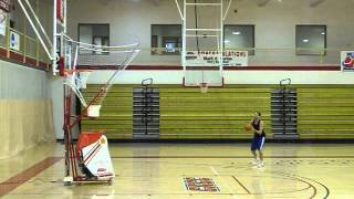 Samuel Cricelli shooting practice. 14 threes in a row