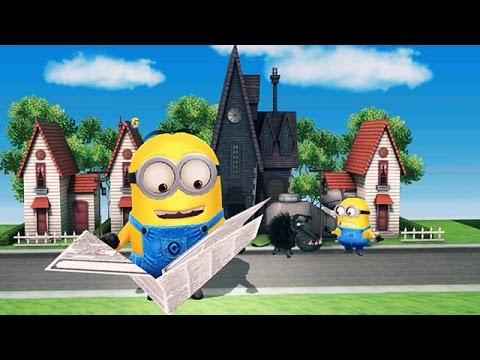 Despicable Me 2: Minion Rush Residential Area Part 7