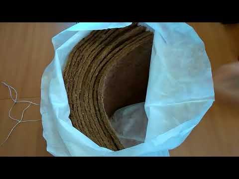 Кокосовое волокно и субстрат-эффективные помощники многократного использования