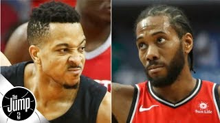 CJ McCollum says the Blazers can't afford to 'Kawhi it' | BS or Real Talk | The Jump