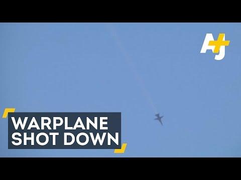 Russian Warplane Shot Down By Turkey Near Syria Border