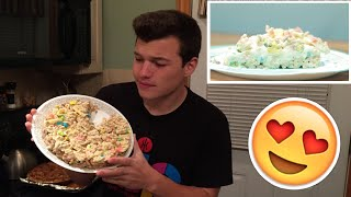 Lucky Charms Ice Cream Cake Review- Buzzfeed Test #2