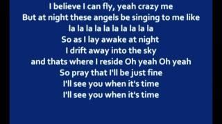 BoB - Can I Fly (lyrics)