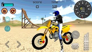 Motocross Beach Jumping 3D (by Mibejo Mobile) Android Gameplay [HD]