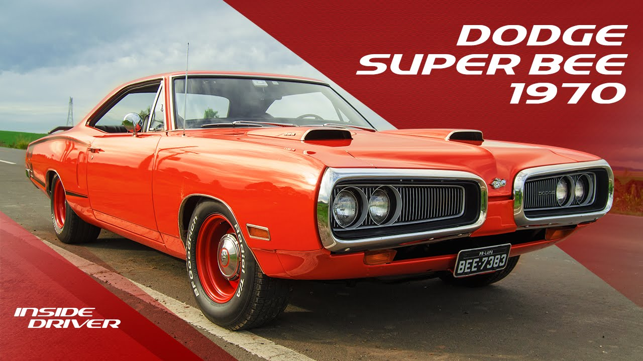 Fear The Sting Dodge Super Bee 1970 Inside Driver