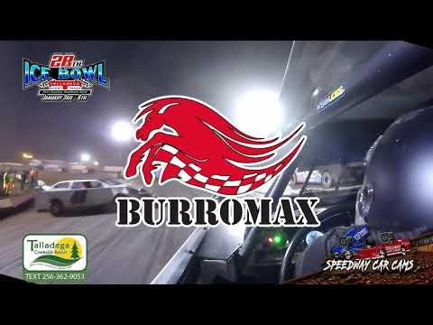 #1 Bo Minor - KMSA Mini Stock - 1-6-19 Talladega Short Track - In Car Camera