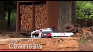 """CS1200-35 Electric Chainsaw Part 14/"""" Bar /& Chain Set Oregon CS1200"""
