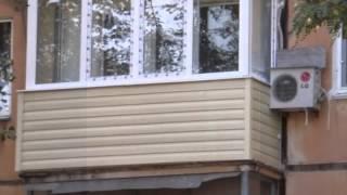 лоджии ПВХ, установка, отделка балкона