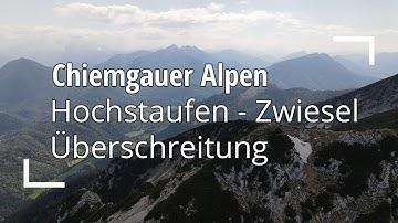 Hochstaufen-Zwiesel Überschreitung | Alpinste Tour im Chiemgau