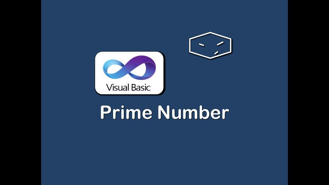 Prime Number In Vb Net Youtube