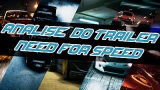 Analise Do Novo Trailer De Need for speed