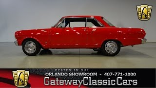 1965 Chevy Nova Gateway Classic Cars Orlando stock 469
