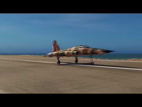 DCS World: Persian Gulf Short Landing With The F-5E!