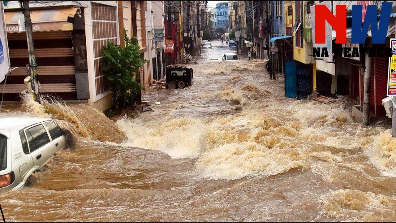 A Torrential Flash Floods Sinks Rio de Janeiro, Brazil ?? January 2 2021