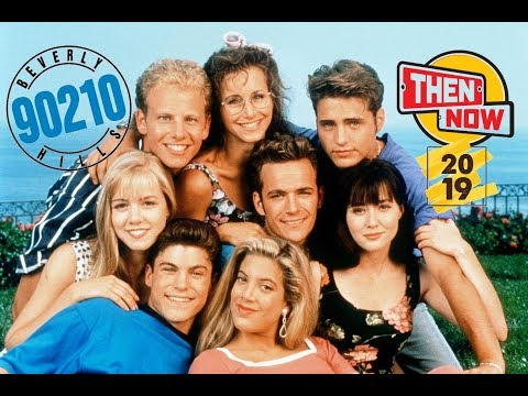 Beverly Hills 90210 Then and Now 2019 - Tribute to Luke Perry #RIP