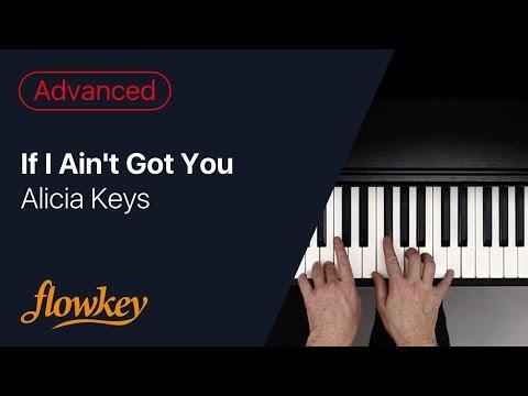 Alicia Keys - If I Ain't Got You (Romantic Piano Cover)