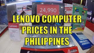 Lenovo Computer Prices In The Philippines