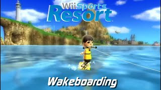 Wii Sports Resort - Wakeboarding: Beginner, Intermediate, Expert + All Stamps
