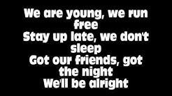 We ll be alright Ravie Mccoy lyric on screen