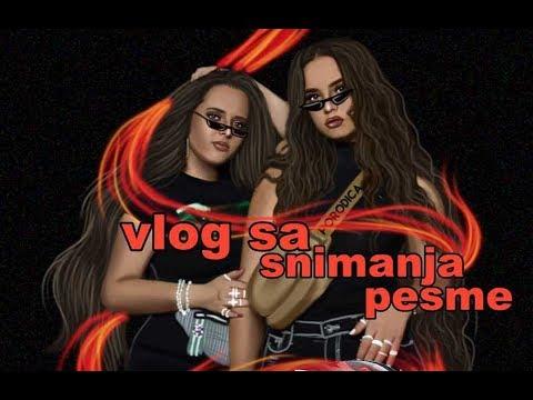 VLOG - snimanje pesme i spota VOZIMO KROZ TREND