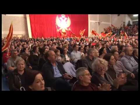 Pljevlja - Konvencija predsjednickog kandidata DPS-a Mila Đukanovica