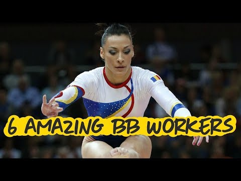 6 Amazing Balance Beam Workers - Gymnastics