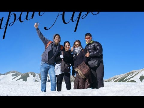 Japan alps with family