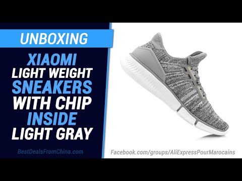 unboxing-gearbest-xiaomi-light-weight-sneakers-with-chip-inside-light-gray