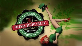 Irish Republic, Saint Patricks Day 2013