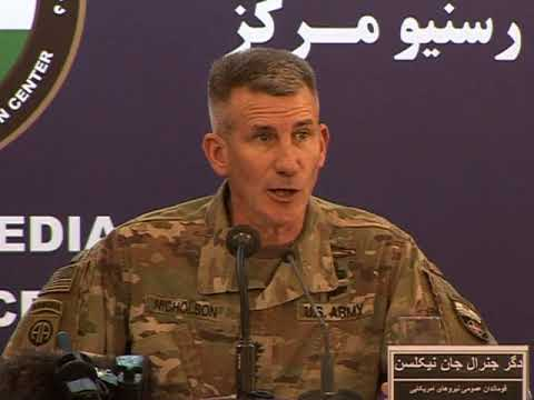 Afghan & U.S. military officials are briefing the media on joint military operations