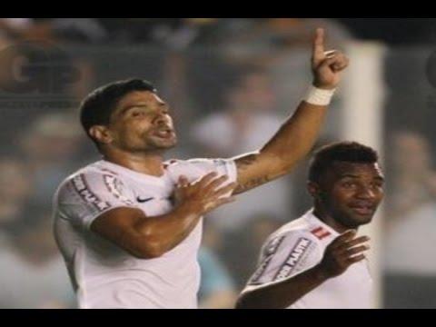 Gol de Renato, Santos 2 x 1 Palmeiras - Paulistão 11/03/2015