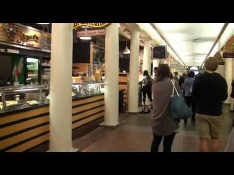 A Walk Through Quincy Market in Boston.  What a great place to eat and people watch.