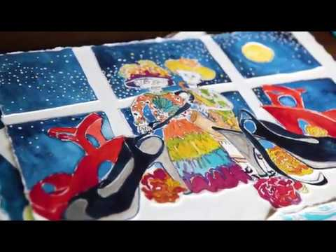 Artists in Their Space- Episode 4- Ginger Mayfield (Painter)-Art Documentary