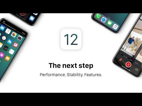 iOS 12 Preview & Wishlist