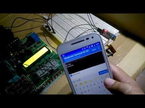 ब्लूटूथ से मोबाइल और सूक्ष्म नियंत्रक की बात चीत