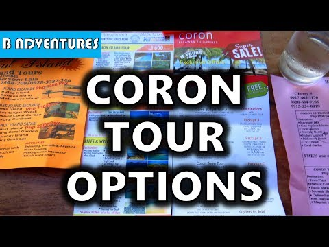 Coron Tour Options, Palawan Philippines S4, Vlog 62