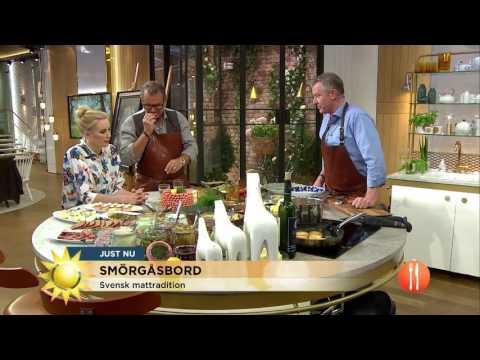 SMÖRGÅSBORD: Bästa buffén för sommarens fester - Nyhetsmorgon (TV4)