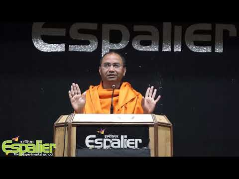 Interactive session of Espalier students with Swami Shree Kanthananda on Healthy living