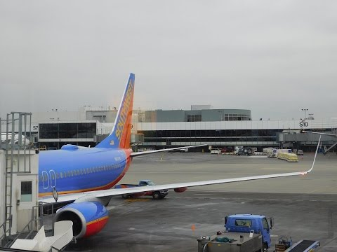 Southwest Airlines Full Flight SEA-BWI: THE HOME STRETCH