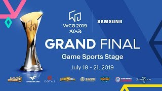 [Day 4] WCG 2019 Xi'an Grand Final - Game Sports Stage