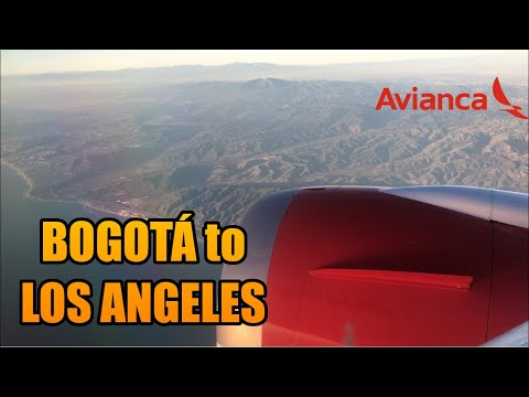 Bogota to Los Angeles BOG-LAX | Boeing 787 | Avianca | FULL FLIGHT