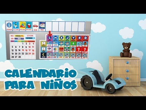 calendario-agenda-para-niÑos-||-como-la-usamos